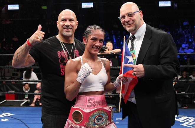 Serrano is a seven-weight world champion Credit: Ed Diller/DiBella Entertainment
