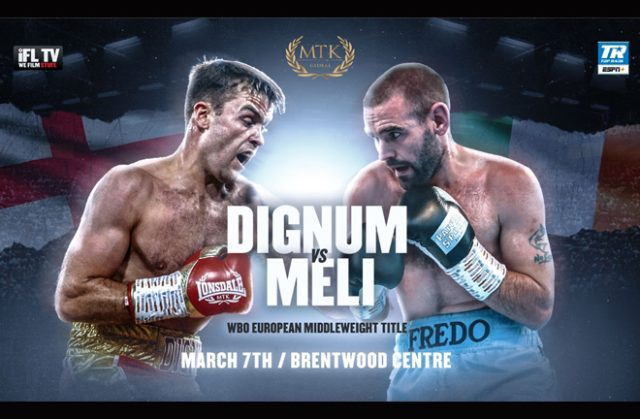 Danny Dignum and Alfredo Meli collide in Brentwood on March 7 Credit: MTK Global