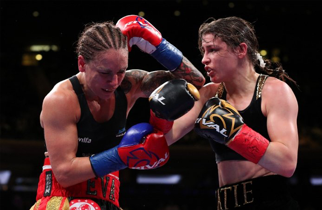 Wahlström's sole defeat was to Katie Taylor in 2018 Credit: Boxing Scene