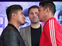 Four-weight king Mikey Garcia headlines against Jessie Vargas in Texas Credit: Boxing Scene