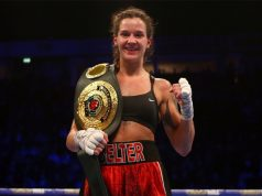 Terri Harper faces WBC Super Featherweight champion Eva Eva Wahlström on Feb 8 in Sheffield Credit: Matchroom Boxing