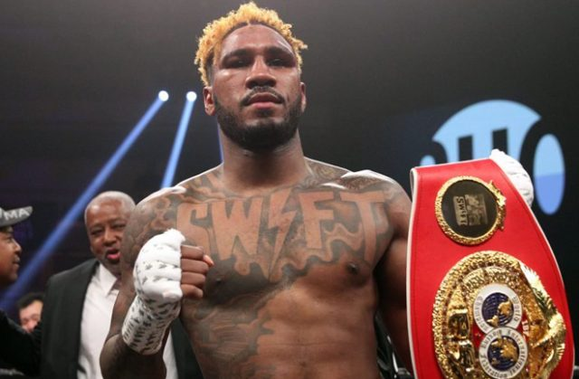 Jarrett Hurd could be set for another world title tilt after returning to action with a win in January. Credit: ringtv.com