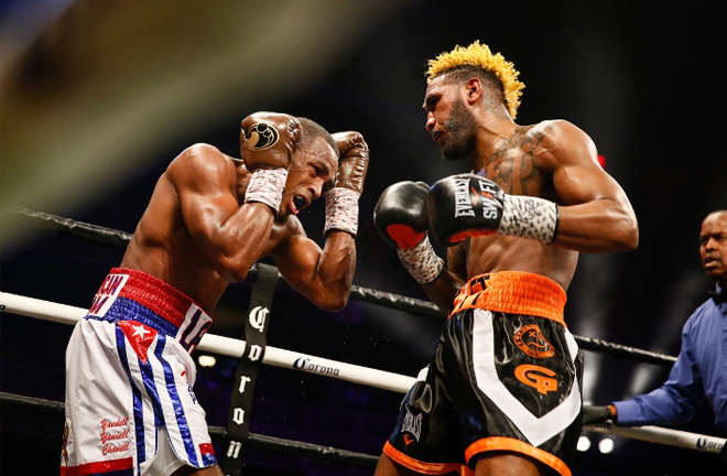 Hurd could look for a second fight with Erislandy Lara after a classic unification in 2018 Credit: Stephanie Trapp