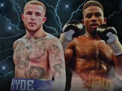 Sam Hyde takes on Deion Jumah for his English title and the winner goes on to fight fir the British title currently held by Richard Riakporhe.