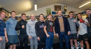 Frank Warren's Queenbury Promotions will sponsor the talented iBox gym Credit: Queensbury Promotions