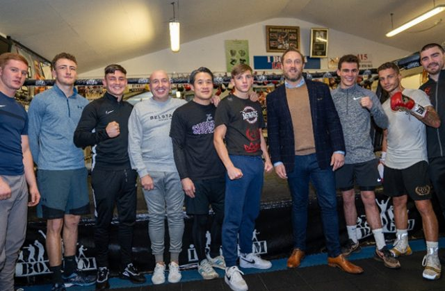 Frank Warren's Queenbury Promotions will sponsor the talented iBox gym Credit: Queensbury Promotions