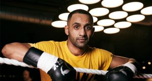 Barry 'Kid Galahad' Awad. Photo Credit: Mark Robinson/Matchroom Boxing