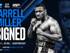 Rivas joins Jarrell Miller who signed with Top Rank last month Credit: Top Rank Boxing