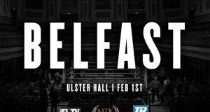 MTK Belfast fight night poster. Credit: mtkglobal.com