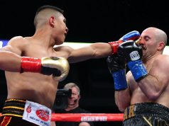 Jaime Munguia stopped Spike O'Sullivan in the 11th round in Texas Credit: Boxing News 24