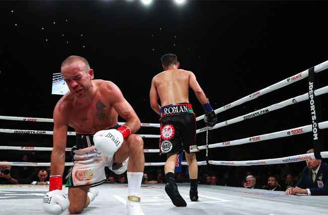 Roman unified his WBA title with TJ Doheny's IBF title in April 2019 Credit: Boxing News 24