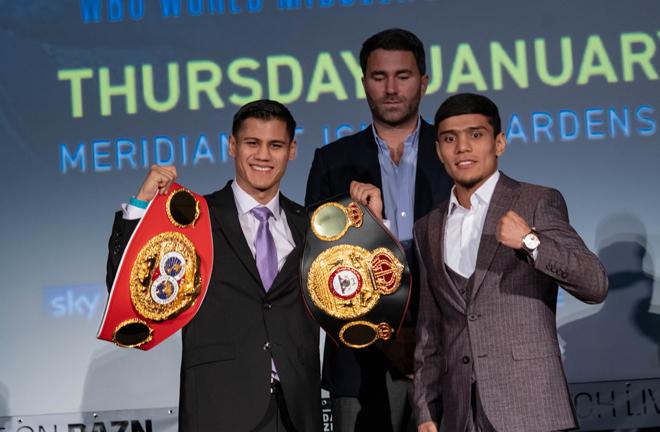 Roman vs Akhmadaliev is touted as the fight of the night in Miami Credit: Alex Nunez