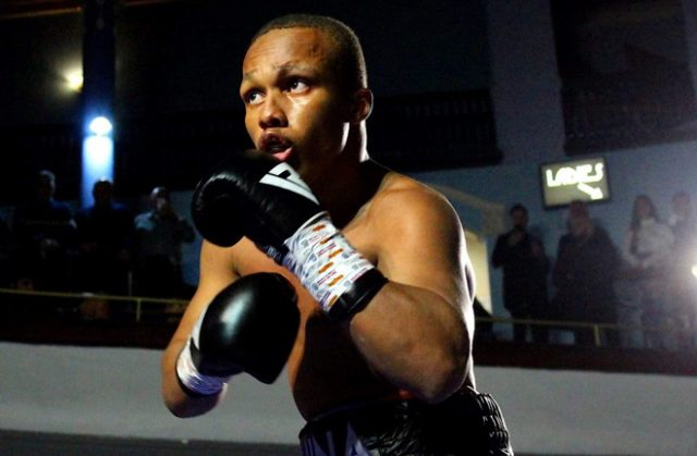 'Shack' Speare is undefeated in five bouts Credit: Twitter @Shack_Speares