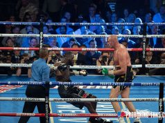 Deontay Wilder has exercised the right to a third fight with Tyson Fury Credit: Pro Boxing Fans