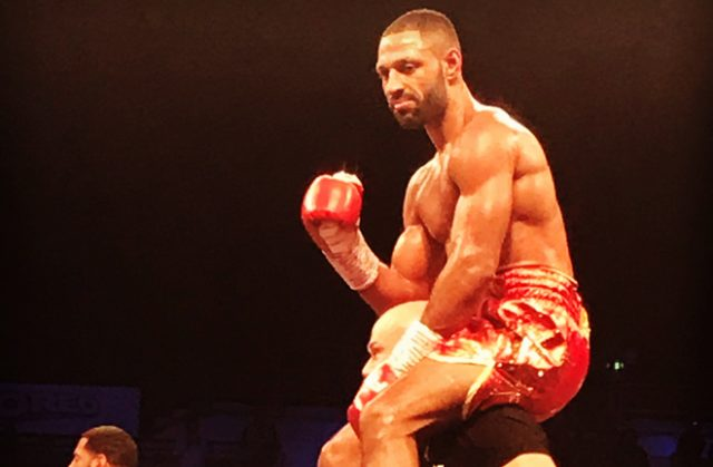 Kell Brook celebrates his return to the ring after 14 months out with a superb display against Mark DeLuca.