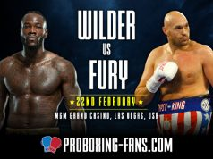 Deontay Wilder defends his world title for the eleventh consecutive time against Tyson Fury after the paid fought to a draw previously.