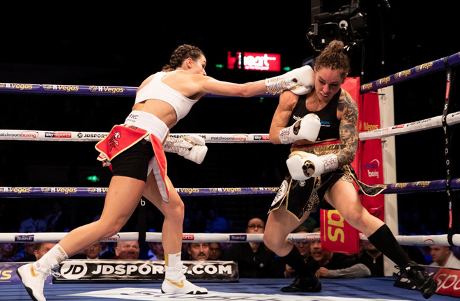 Terri Harper put on an impressive display against Eva Wahlstrom in Sheffield to claim the WBC world title