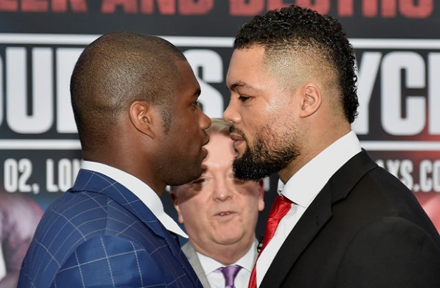 Daniel Dubois and Joe Joyce will instead collide on July 11 following the postponement of their April 11 bout Credit: Frank Warren
