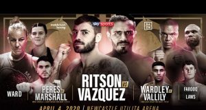 Lewis Ritson will face former IBF world lightweight champion Miguel Vazquez on April 4 in Newcastle Credit: Matchroom Boxing