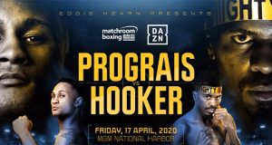 Regis Prograis will face off against Maurice Hooker in a battle of two former world champions. Credit: Matchroom Boxing.