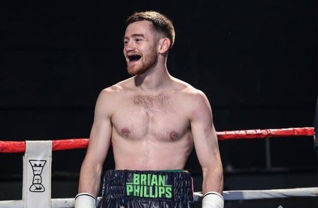Brian Phillips is determined to make a success out of boxing. Photo Credit: Karen Priestley.