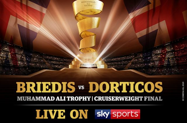 WBSS Cruiserweight final to be shown LIVE on Sky Sports in the UK. Credit WBSS.