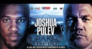 Anthony Joshua will defend his world heavyweight titles against Kubrat Pulev on June 20th at Tottenham Hotspur Stadium Credit: Matchroom Boxing