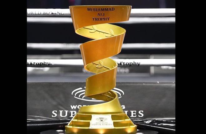 The prestigious Muhammad Ali Trophy will be on the line in Riga Credit: WBSS