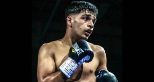 Aqib Fiaz is unbeaten in four professional bouts Credit: Aqib Fiaz