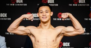 Brandun Lee will be fighting at 143 lbs this Friday night. Photo Credit: Boxing Scene