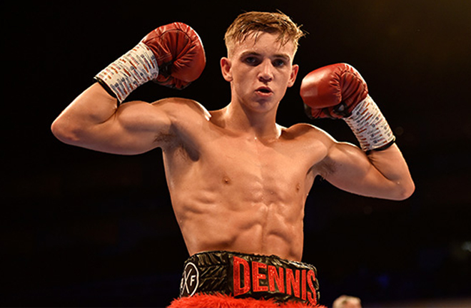 Dennis McCann is one of the hottest prospects in the UK Credit: Frank Warren