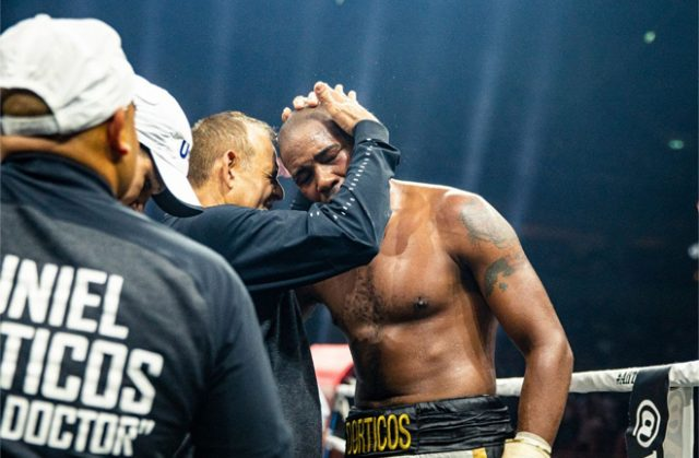 Pedro Roque says comparisons can be made to Muhammad Ali if Yuniel Dorticos beats Mairis Briedis in the WBSS final Credit: WBSS