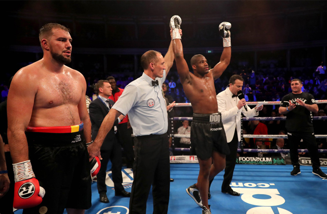 Cojanu was stopped by Daniel Dubois in two rounds in March 2019 Credit: talkSPORT