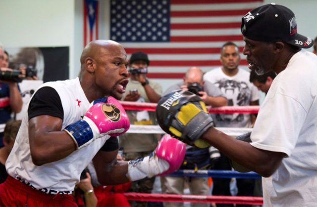 Floyd Mayweather Jr had unprecedented success with uncle and former trainer Roger Mayweather Credit: REUTERS/Steve Marcus/File Photo