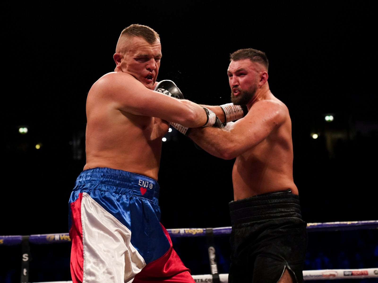Hughie Fury raced to a third round stoppage of Pavel Sour Credit: Matchroom Boxing