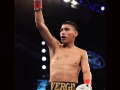 Vergil Ortiz Jr is one of the most powerful up and coming contenders in global boxing Credit: Vergil Ortiz Jr Facebook