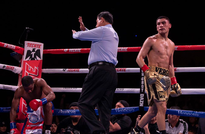 Ortiz Jr finished 2019 with a stoppage win over Brad Solomon Credit: Vergil Ortiz Jr Facebook