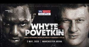 Dillian Whyte will take on former world champion Alexander Povetkin on May 2 in Manchester Credit: Matchroom Boxing