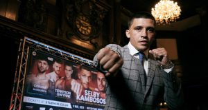 Lee Selby will face George Kambosos Jr in an IBF world title eliminator in Cardiff. Photo Credit: Matchroom Boxing.