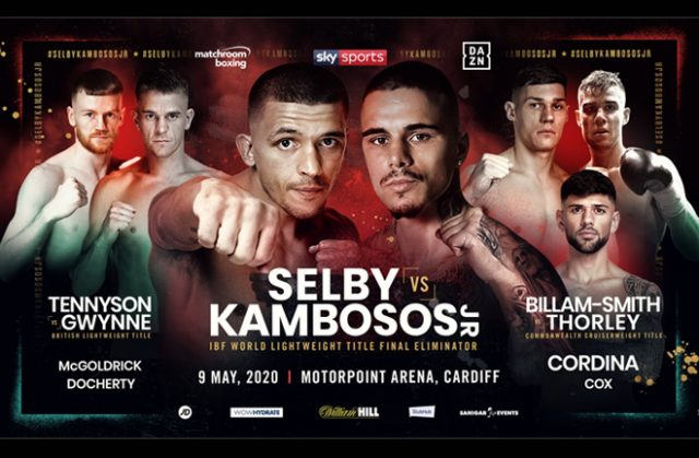 Lee Selby will face George Kambosos Jr for the right to face the winner of Lomachenko-Lopez Credit: Matchroom Boxing