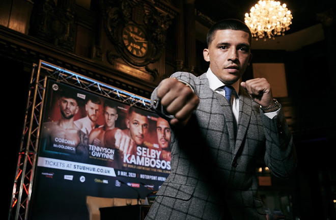 Lee Selby's IBF final eliminator against George Kambosos Jr is set to take place on July 11th in Cardiff Credit: Matchroom Boxing