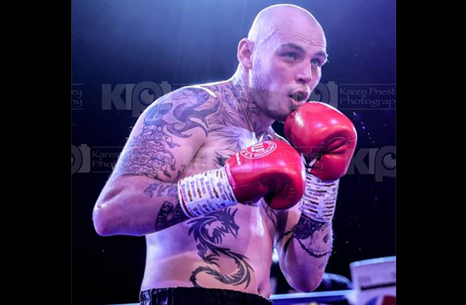 Sharp is approaching his 79th fight as a professional Credit: Karen Preistley Photography