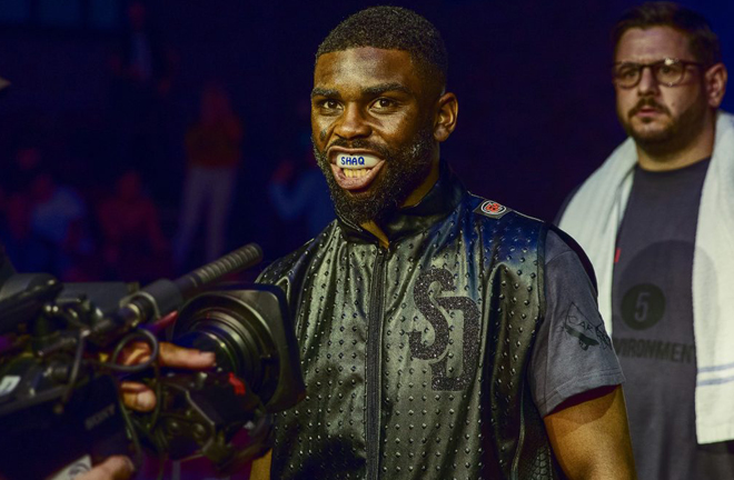 Former Southern Area Welterweight titlist Shaquille Day will be eyeing a shot at the English title with victory Credit: MTK Global