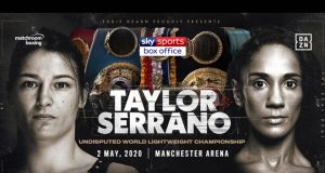 Female greats Katie Taylor and Amanda Serrano will meet in an undisputed lightweight clash in Manchester on May 2 Credit: Matchroom Boxing