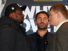 Dillian Whyte will face Alexander Povetkin on July 4th at the Manchester Arena Credit: Matchroom Boxing