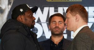 Dillian Whyte will face Alexander Povetkin on at Fight Camp Credit: Matchroom Boxing