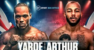 Anthony Yarde will return against Commonwealth champion Lyndon Arthur on April 11 at the O2 Arena Credit: Queensbury Promotions