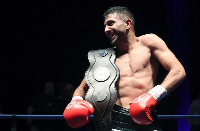Zeeshan Khan, the central area champion. Photo Credit: thetelegraphandargus.co.uk