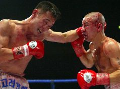 Injin Chi vs Michael Brodie at the MEN arena. Photo Credit: Boxing News.
