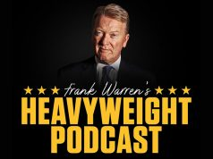 Frank Warren's Heavyweight Podcast can now be heard across many platforms. Photo Credit: Frank Warren